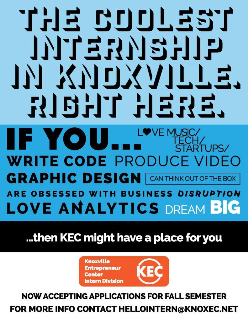 kec intern poster